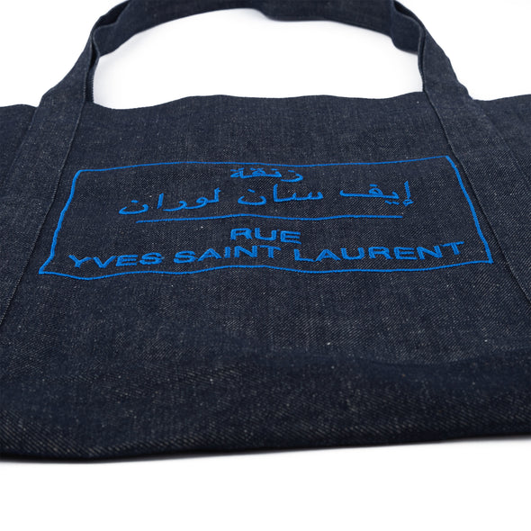 Shopping Bag Double Rue  YSL Brodé