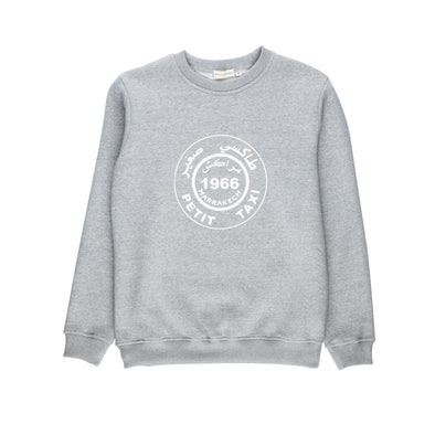 Sweat Adultes Petit Taxi - Gris