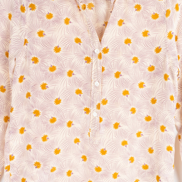 Colamo tunic with flowers