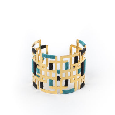 Bohos Gold Plated Cuff