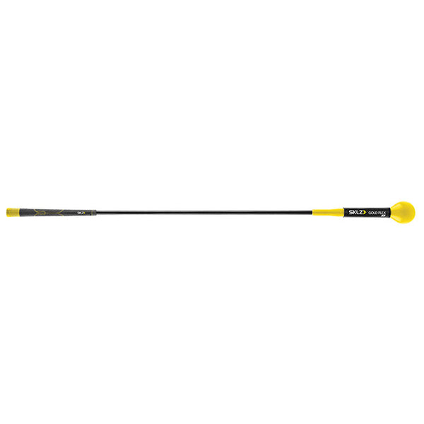 Black and yellow golf driving trainer