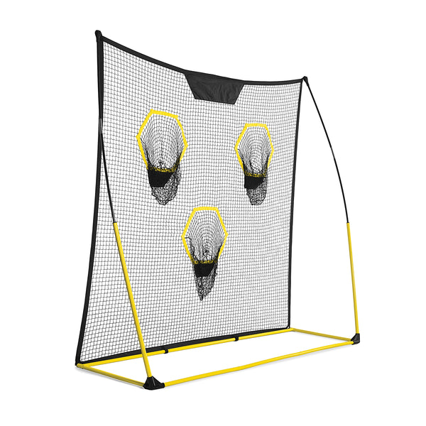 Back view of Quickster training net