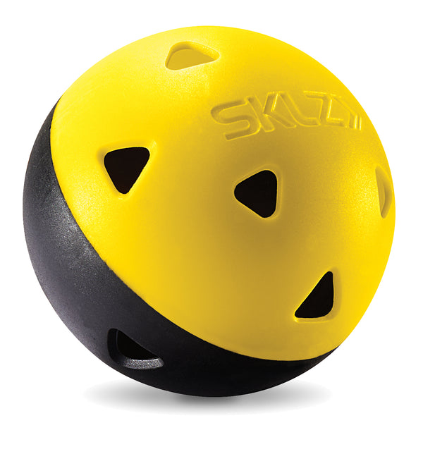 Black and Yellow impact golf practice balls