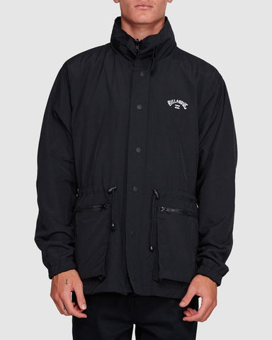 GNAR REVERSIBLE JACKET BLACK