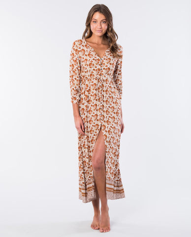 SPICE TEMPLE MAXI DRESS