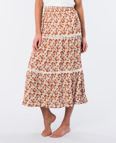 SPICE TEMPLE MAXI SKIRT