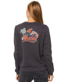 RETRO BEACH CREW FLEECE