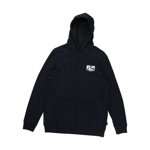 OIL SLICK HOODED FLEECE