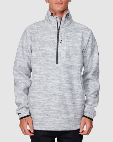 BOUNDARY MOCK HALF ZIP THROUGH