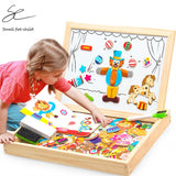 Creative Whiteboard Set with Magnetic Puzzle