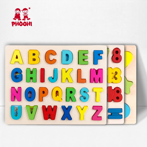 Educational Alphabet Puzzle