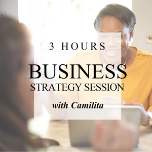 3 HOURS BUSINESS STRATEGY SESSION | 3 Hours