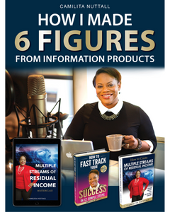 6 FIGURES FROM INFORMATION PRODUCTS | MASTERCLASS