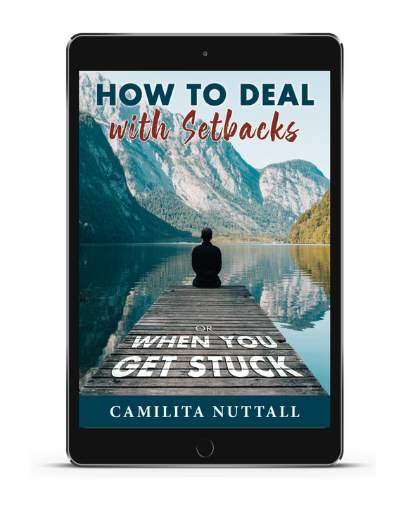 HOW TO DEAL WITH SETBACKS | EBOOK