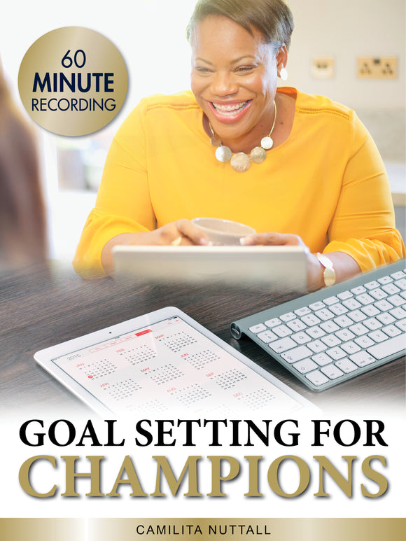 GOAL SETTING FOR CHAMPIONS | MASTERCLASS