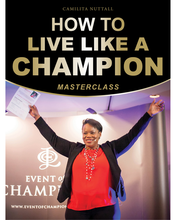 HOW TO LIVE LIKE A CHAMPION | MASTERCLASS
