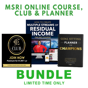 BUNDLE | MSRI COURSE, INNER CIRCLE & PLANNER