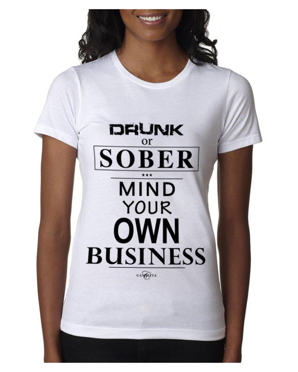MIND YOUR OWN BUSINESS | UNISEX T-SHIRT
