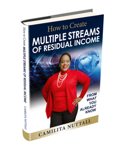 MULTIPLE STREAMS OF RESIDUAL INCOME | BOOK