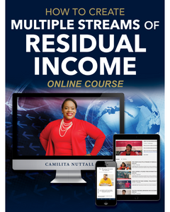 CREATING RESIDUAL INCOME | ONLINE COURSE
