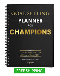 GOAL SETTING PLANNER FOR CHAMPIONS