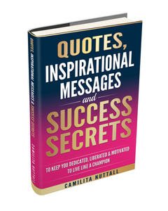 QUOTES, INSPIRATION & SUCCESS SECRETS | BOOK