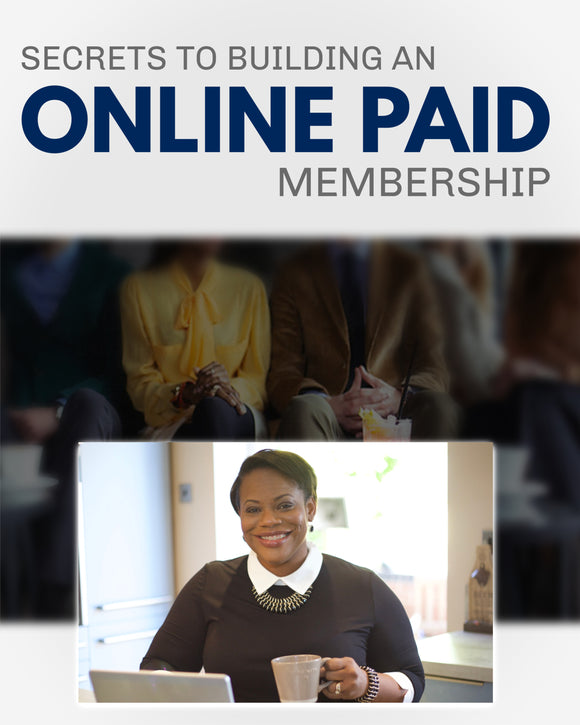BUILDING AN ONLINE PAID MEMBERSHIP | 2 Hours