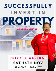SUCCESSFULLY INVEST IN PROPERTY | PRIVATE WEBINAR