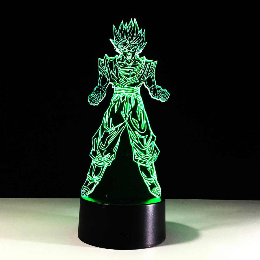 Dragon Ball Z <br>Goku Super Saiyan 1 Lamp