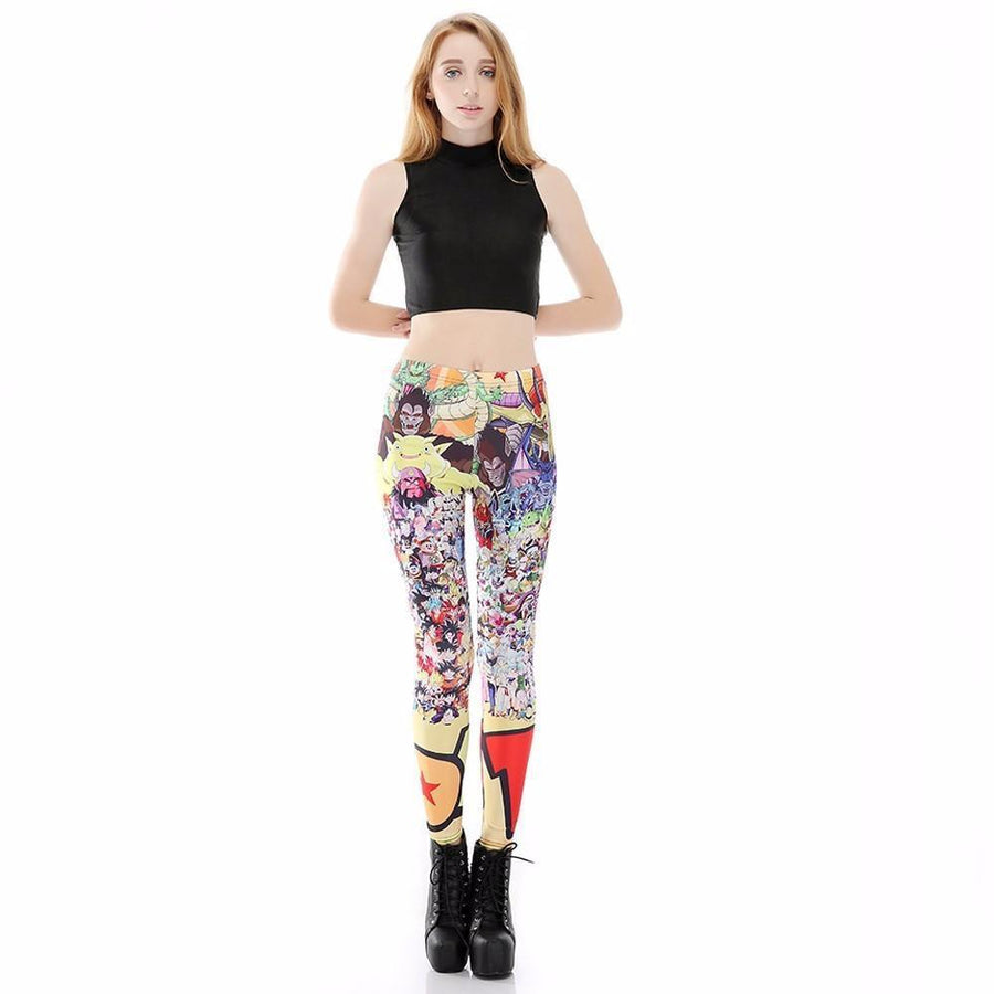 Dragon Ball Z <br> All Characters Women Leggings