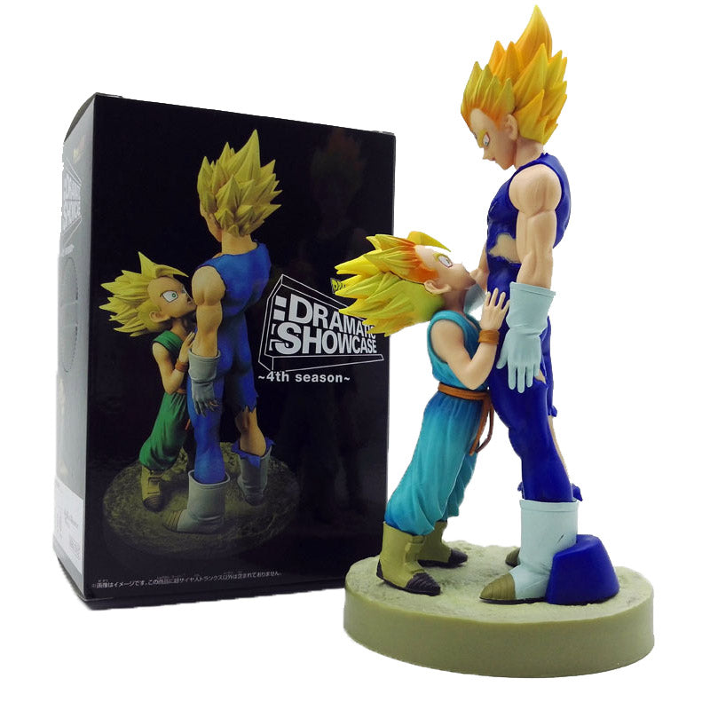 Majin Vegeta and Trunks Figure