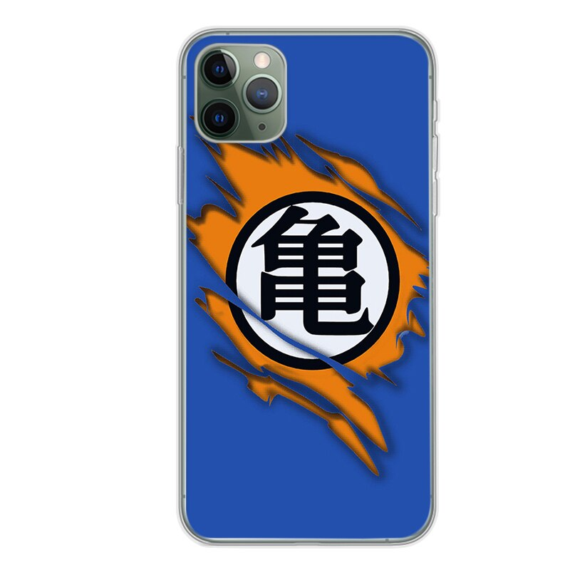 Dragon Ball Z <br>Kame Kanji iPhone Case
