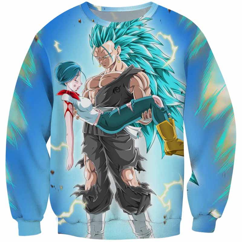 Dragon Ball Super <br>SSJ3 Blue Vegeta Sweater