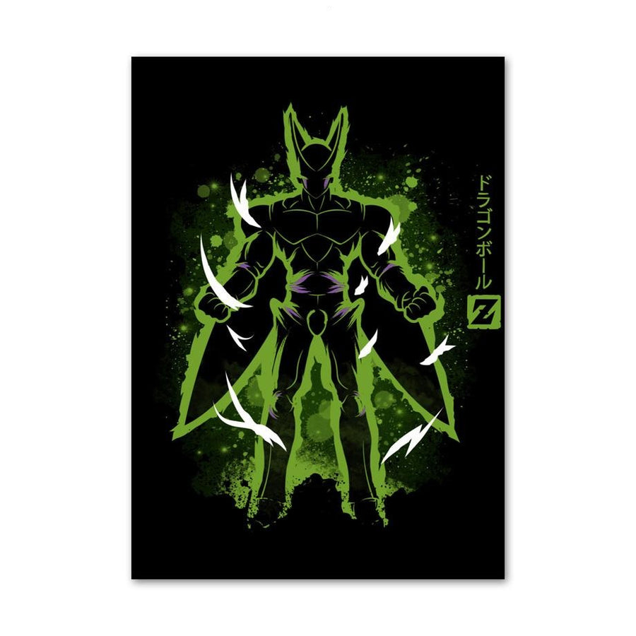 Dragon Ball Z <br>Cell Painting