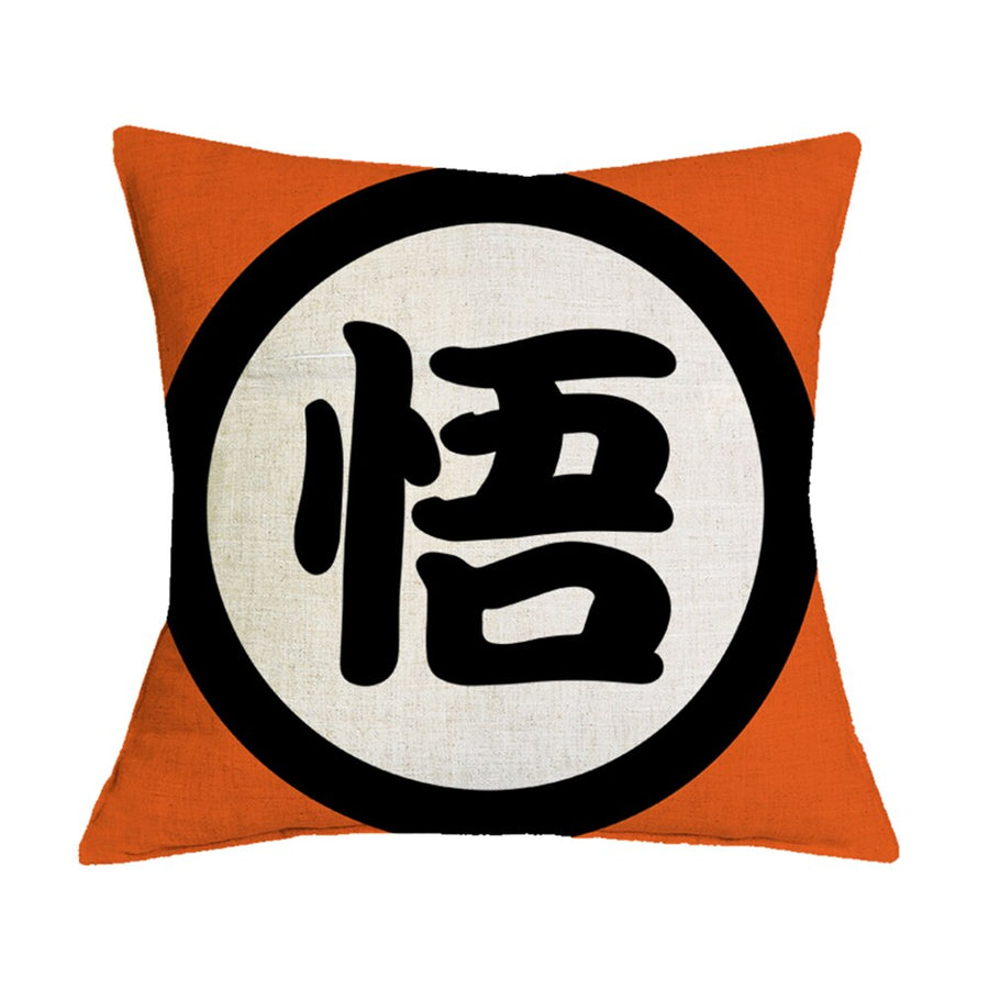 Dragon Ball Z Pillowcase <br>Goku's Kanji