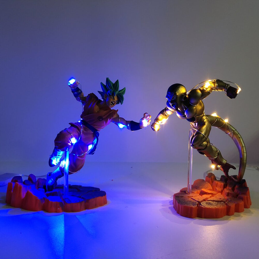 Dragon Ball Z <br>Goku Vs Frieza Lamp