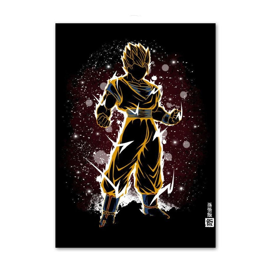 Dragon Ball Z <br>Goku Super Saiyan 1 Painting