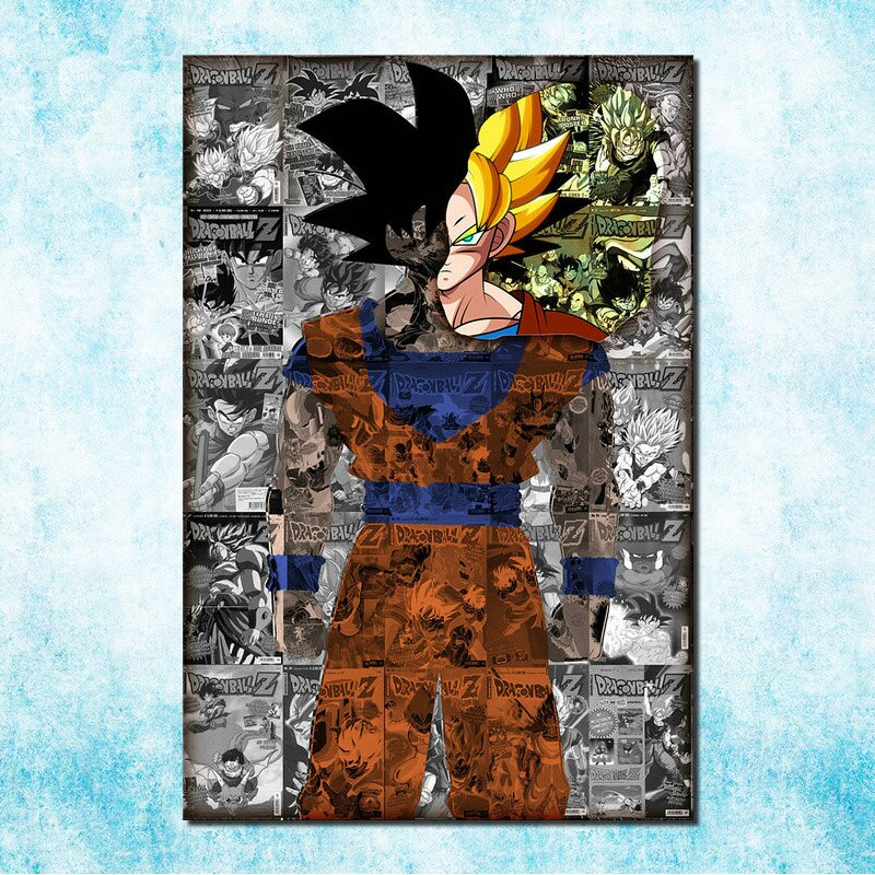 Dragon Ball Z <br>Goku Diamond Painting