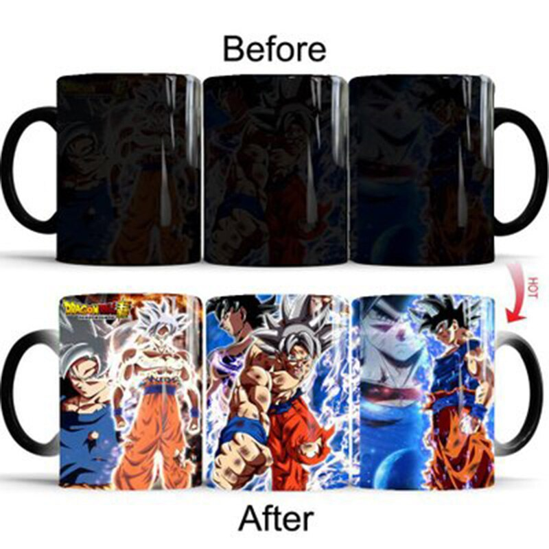 Dragon Ball Super <br>Ultra Instinct Goku Mug