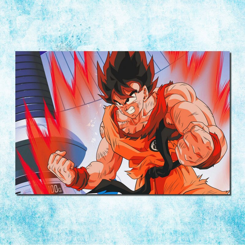 Dragon Ball Z <br> Goku Kaioken Painting