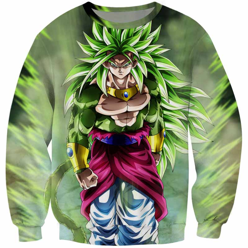 Dragon Ball <br>Mastered SSJ4 Broly Sweater