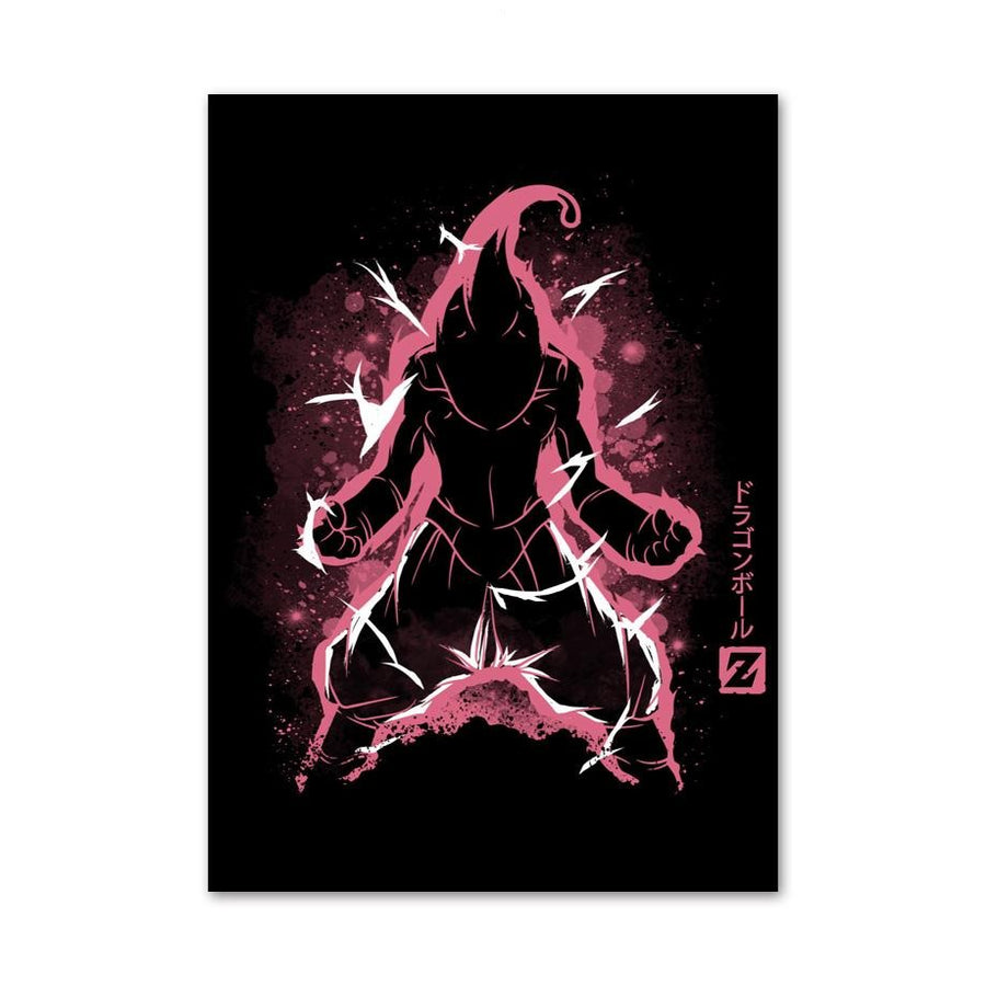 Dragon Ball Z <br>Kid Buu Transformation Painting