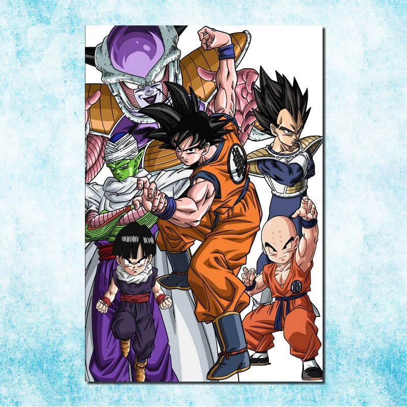 Dragon Ball Z <br> Arc Namek Painting