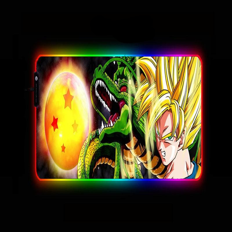 Dragon Ball Z <br>Goku SSJ1 x Shenron Mouse Pad