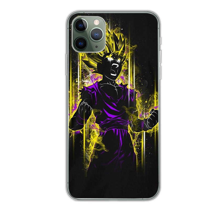 Dragon Ball Z <br>Super Saiyan 2 Gohan Transformation iPhone Case