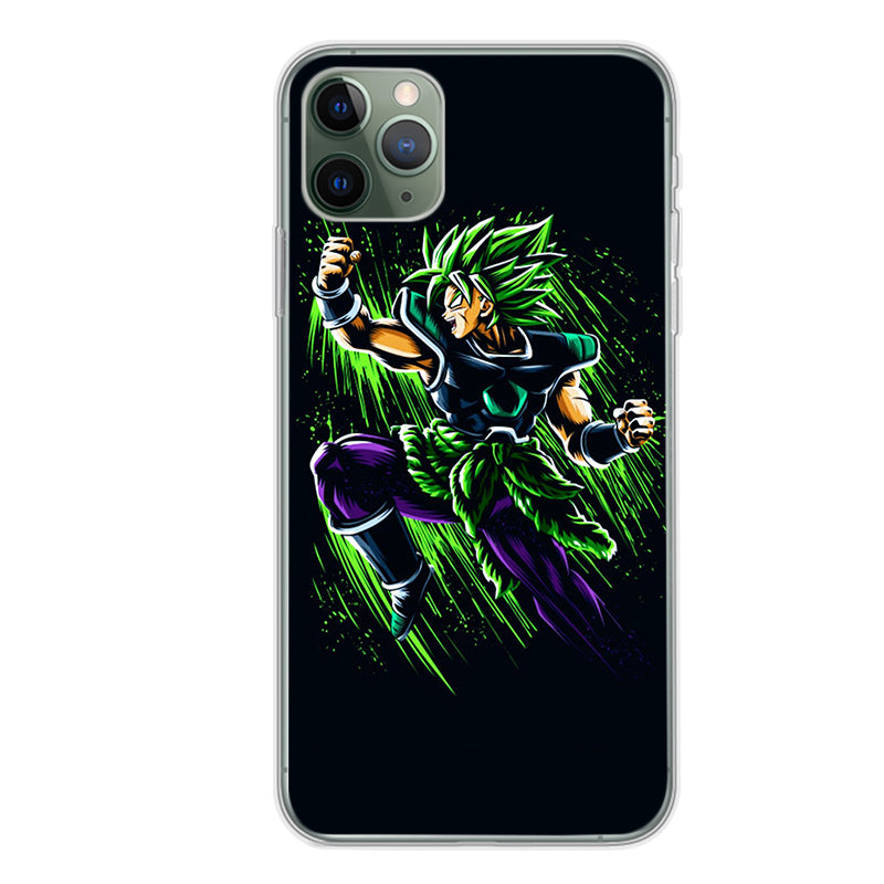 Dragon Ball Super <br>SSJ Broly iPhone Case