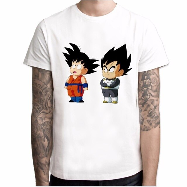 Kid Goku And Kid Vegeta Shirt