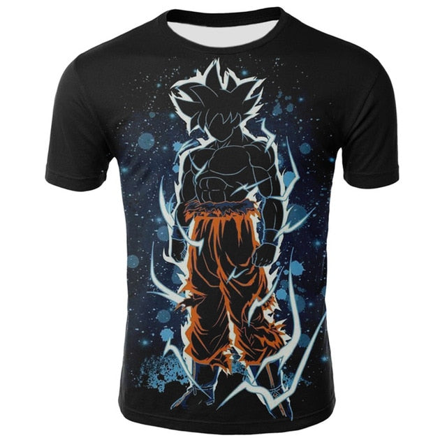 Dragon Ball Z Goku Ultra Instinct Shadow Shirt