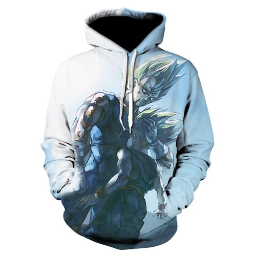 Vegeta And Trunks Hoodie