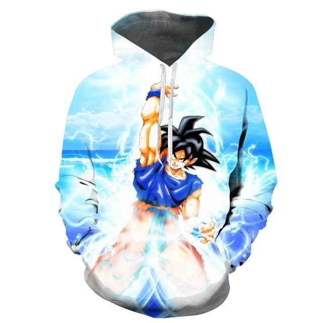 Dragon Ball Z Goku Energy Hoodie